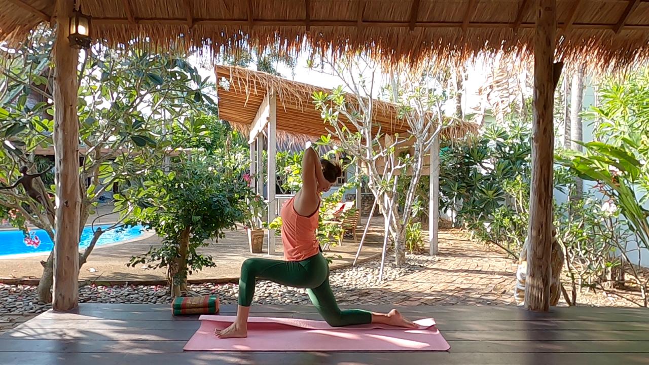 Energizing yoga 4